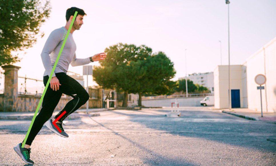 Como correr corretamente? Corredor sendo avaliado em paisagem urbana